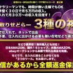 【せどり】サヤ取りせどらー3種の神器の世界最強実践特典レビュー!!